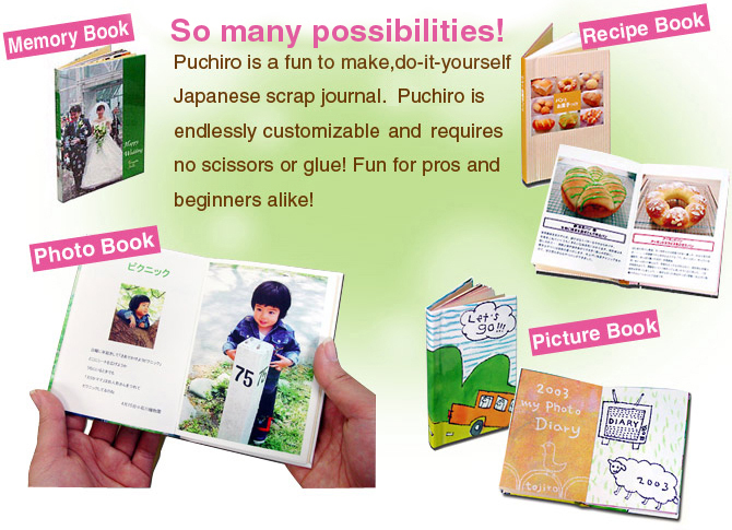 Puchiro is a fun to make do it yourself japanese scrap journal so many possibilities solutioingenieria Choice Image